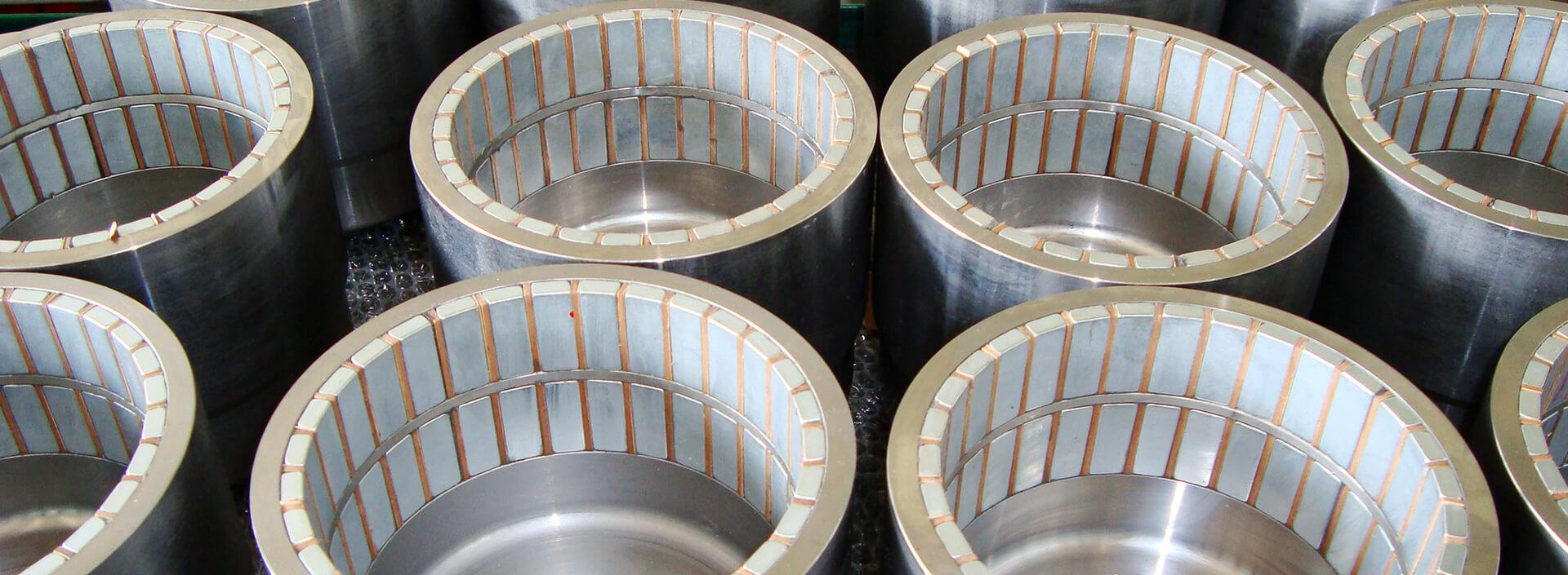 anelli magnetici esterni di pompe a trascinamento magnetico